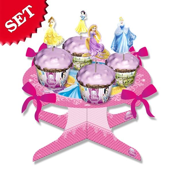 Prinzessin Muffin-Set, zum Backen toller Motto-Muffins, viel Zubehör