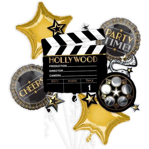 """VIP-Hollywood"" Ballon-Set, 5-teilig"