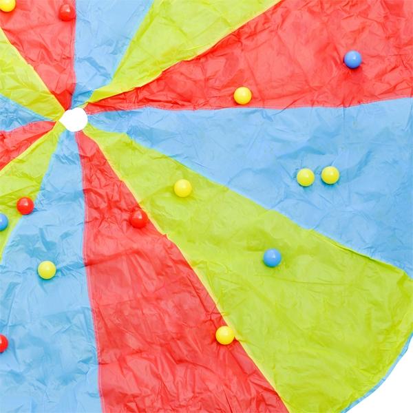 Schwungtuch-Spiel mit 25 Bällen, 305cm, für bis zu 12 Kinder