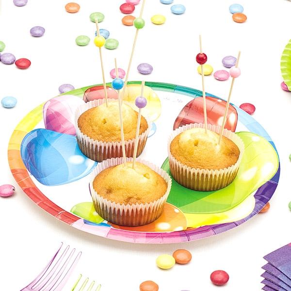 """Partyteller """"Ballons"""", 8 Stück, Ø 24 cm"""