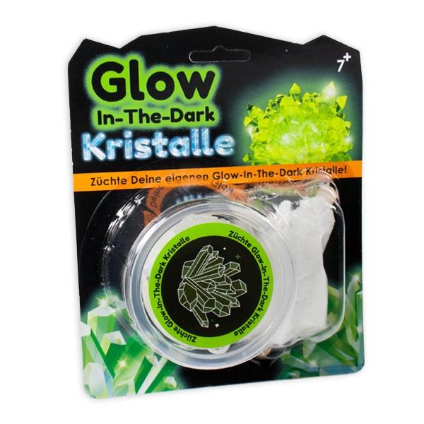 """Kristalle züchten """"Glow in the Dark"""", 1 Set"""