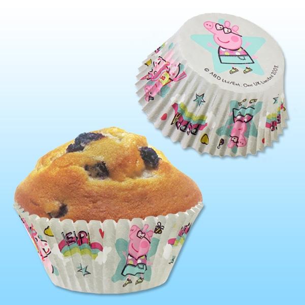 Muffinförmchen Peppa Pig, 25 Stk