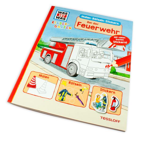 """WAS IST WAS - Kindergarten """"Bei der Feuerwehr"""""""