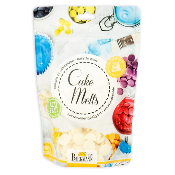 Cake Melts Glasur weiß 250 g