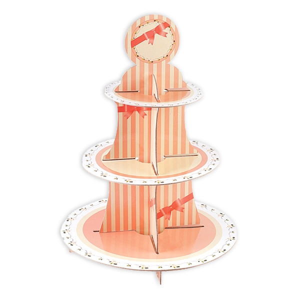 "Muffin-Etagere ""Sweet Hours"" zur Präsentation Ihrer Cup Cakes, Pappe"