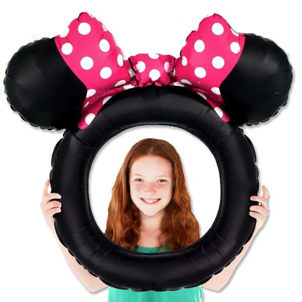 Minnie Maus aufblasbarer Bilderrahmen, 73cm x 71cm