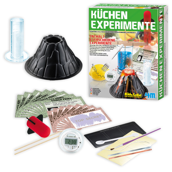Experimentierset, Küchenexperimente