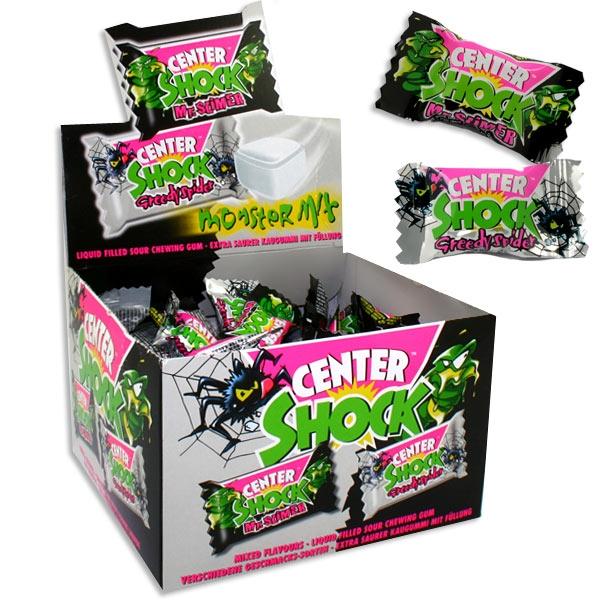 Großpackung Center Shock Monstermix, 100 super saure Kaugummis, einzeln verpackt