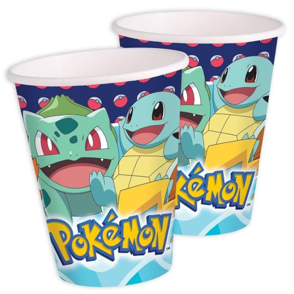 Partybecher Pokemon, 8 Stk., 250ml