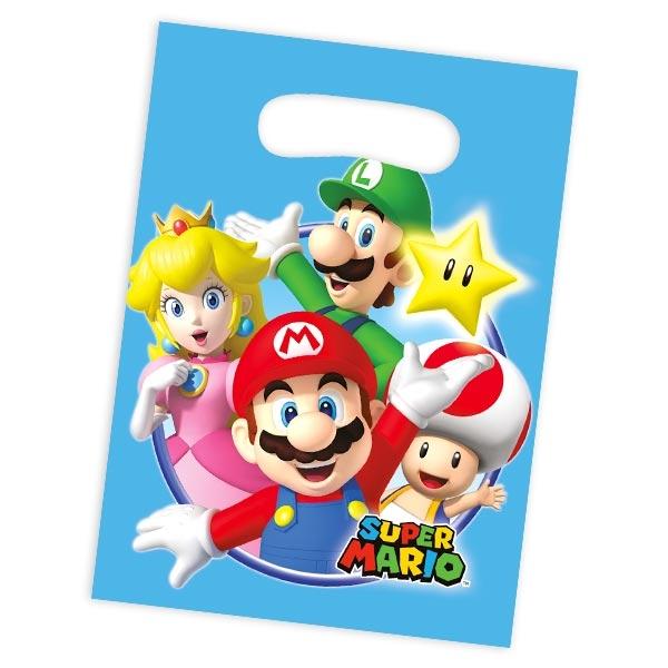 Super Mario Tütchen, niedlich bedruckte Foliebeutel im 8er Pack