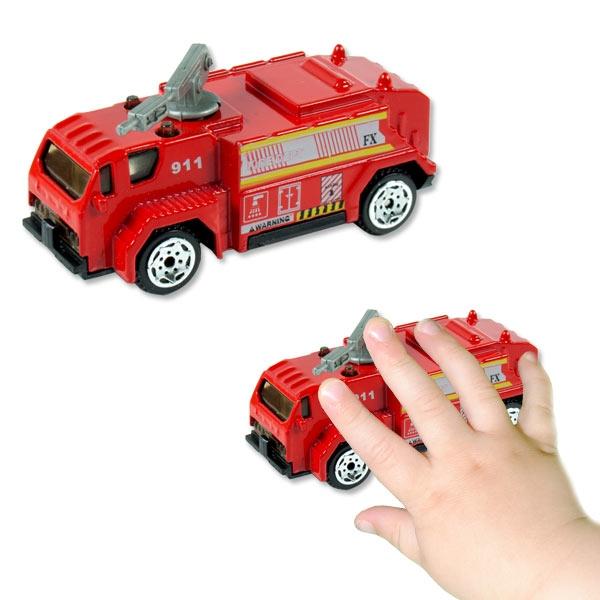 Feuerwehrauto, 1 Stk, 7cm x 3,5cm, Feuerwehr als beliebtes Geschenk
