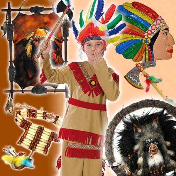 Verleihkiste Indianer - Boys, Tomahwak bis Traumfänger und vielem mehr
