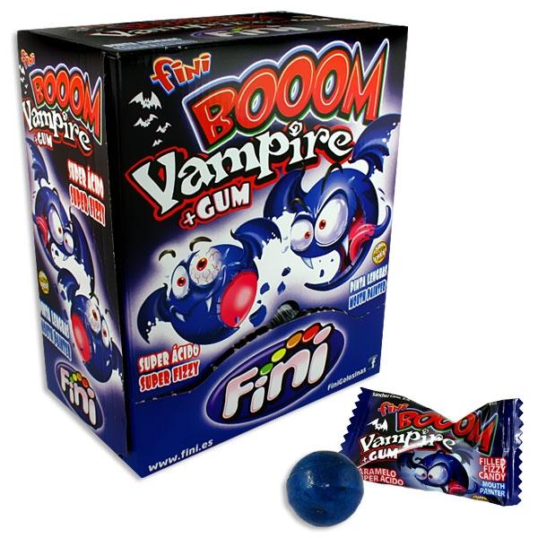 Großpack Vampir Kaugummis, 200Stk, Saures für Halloween