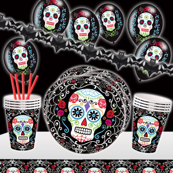 Halloween Mottoset für 10 Gäste, 40-tlg.
