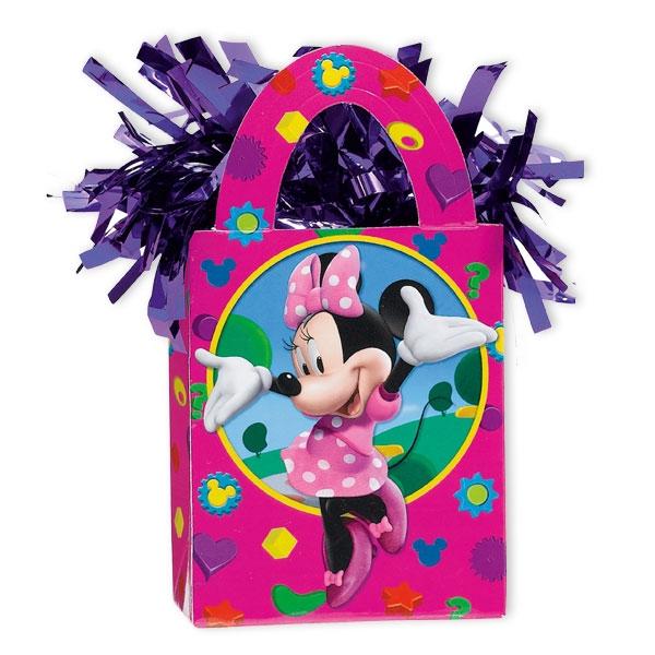 Minnie Mouse Ballongewicht für Folienballons zu Mäuseparty, 1 Stück