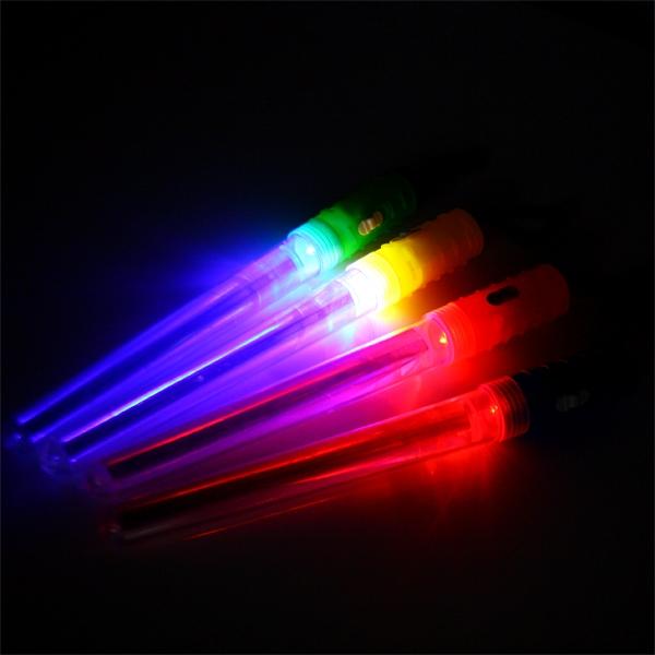 Lichtschwert mit Blinkeffekt, 1 Stück, 18 cm langer Leuchtstab für Kinder