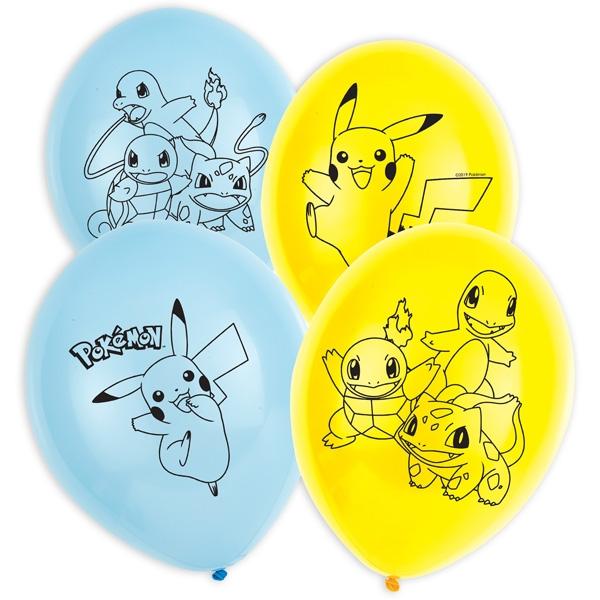 """Luftballons """"Pokemon"""", 6er, 27,5cm"""