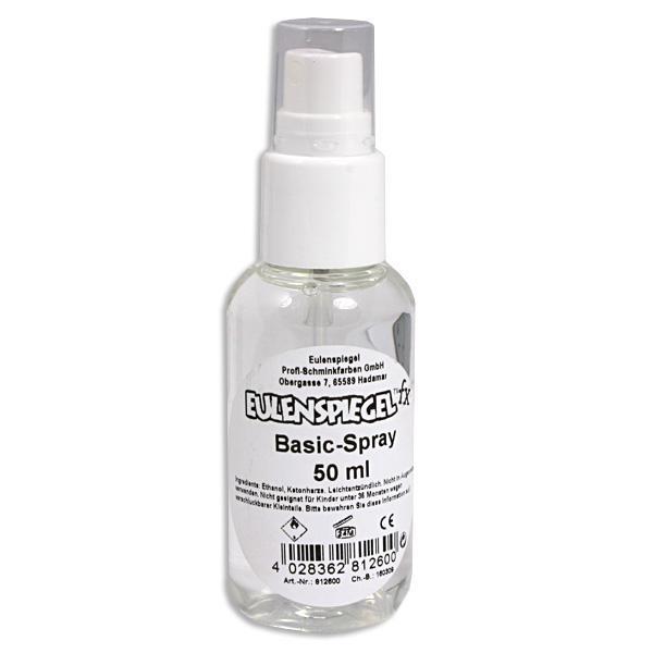Grundierung für Kinderschminken: Basic-Spray mit Zerstäuber, 50ml Flasche