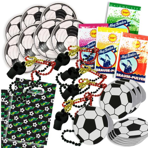 Fussball Mitgebselset, für 8 Kids, 40tlg