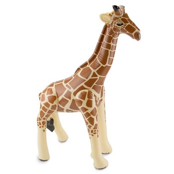 Aufblasbare Giraffe, Dekotier, 74cm