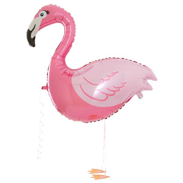Flamingo Walker Ballon, 99cm