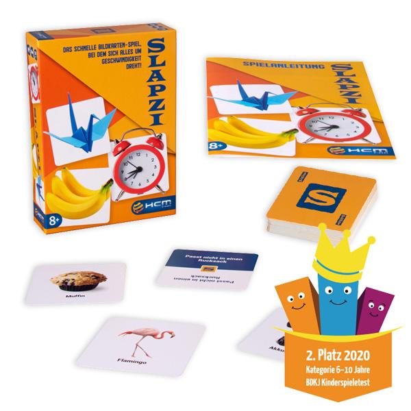 Slapzi - das schnelle Bildkarten-Spiel