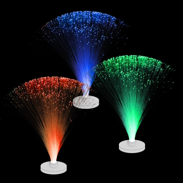 Mini-Fiberglaslampe mit Farbwechselnder LED, batteriebetrieben