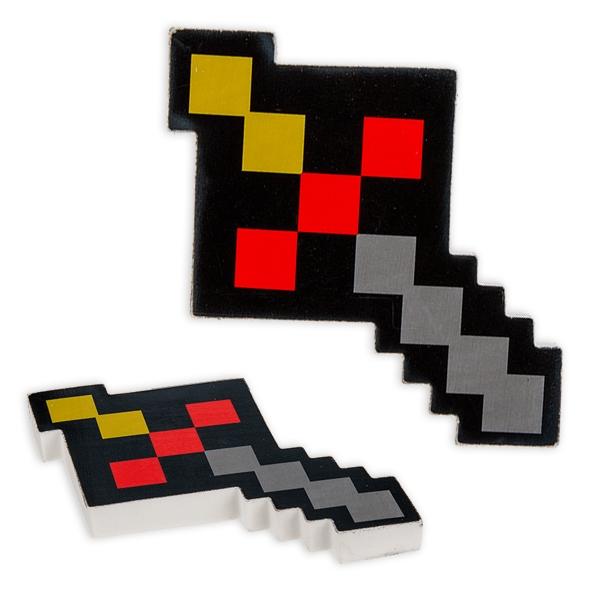 Pixelschwert Radierer, 12cm, 1 Stk