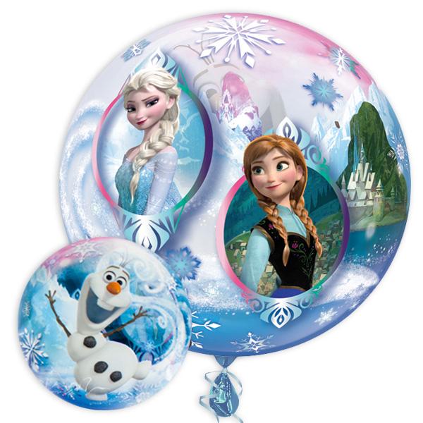 "Bubble Ballon ""Frozen"", 56cm, heliumgeeignet"