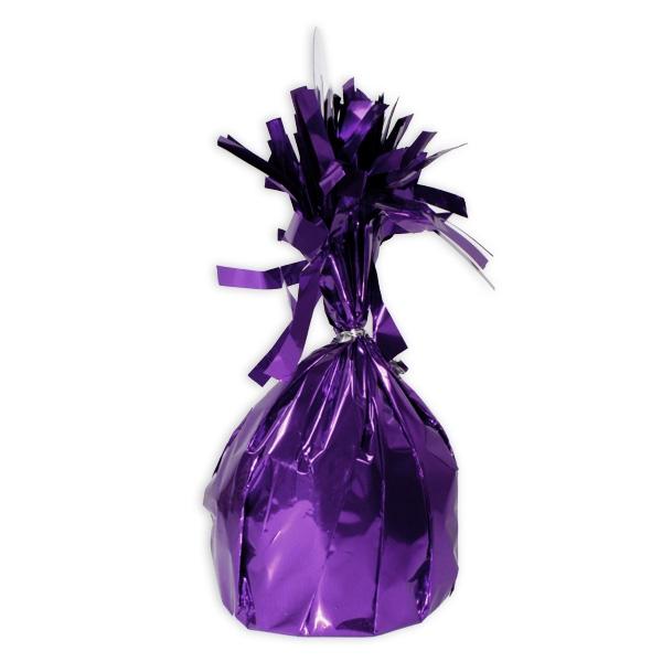 Ballongewicht Lavendel, 13cm, Zubehör für Heliumballons, 1 Stück