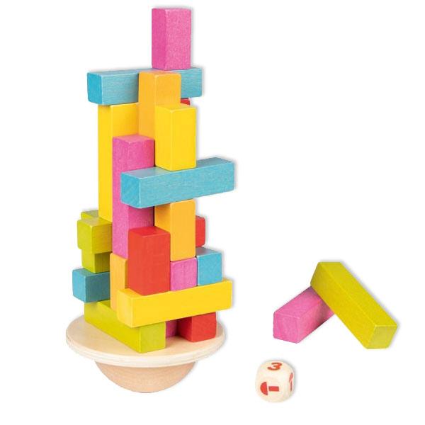 "Balancierspiel ""Tanzender Turm"", 38-teilig"